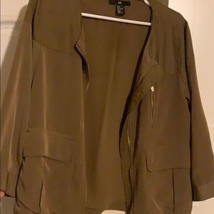 H&M silky jacket